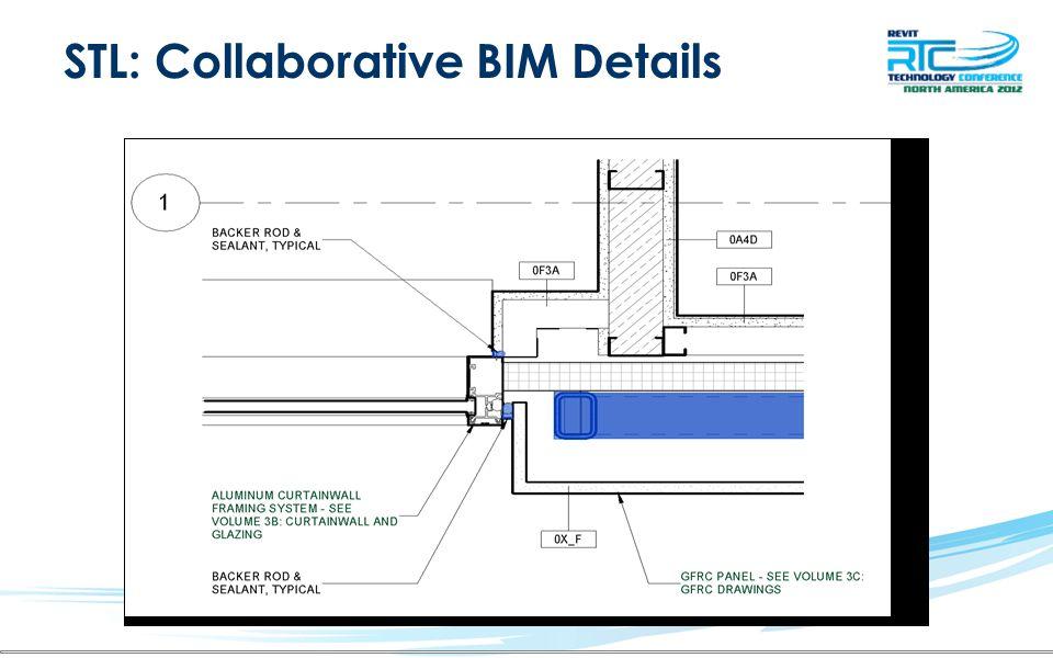 STL: Collaborative BIM Details