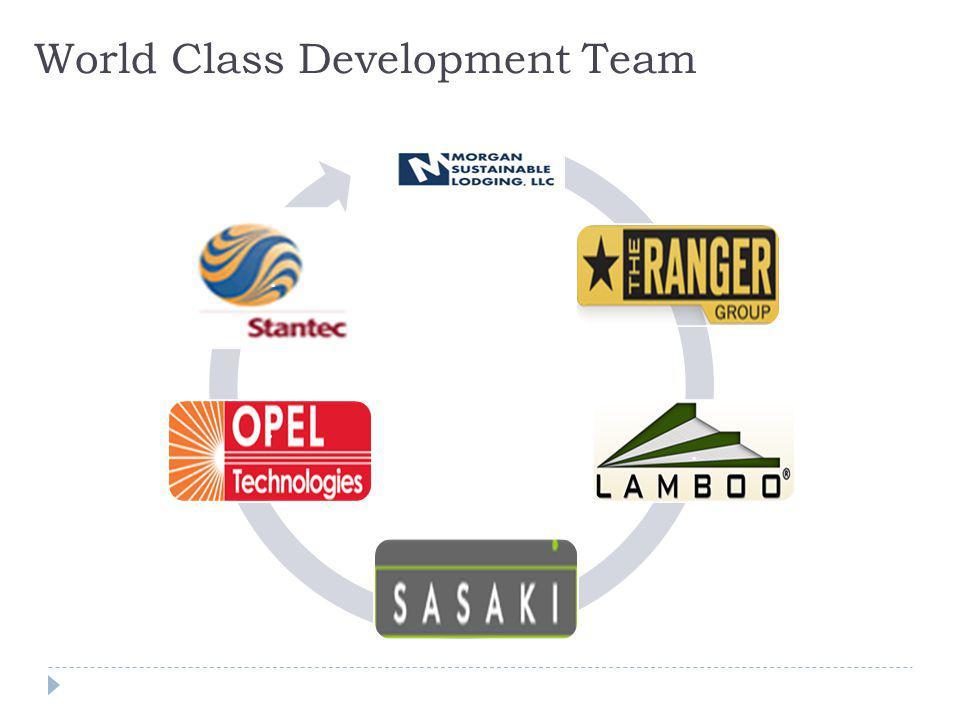 World Class Development Team...