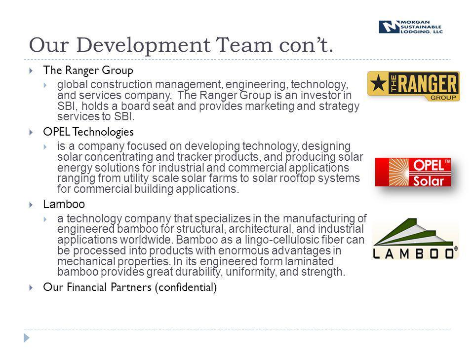 Our Development Team cont.