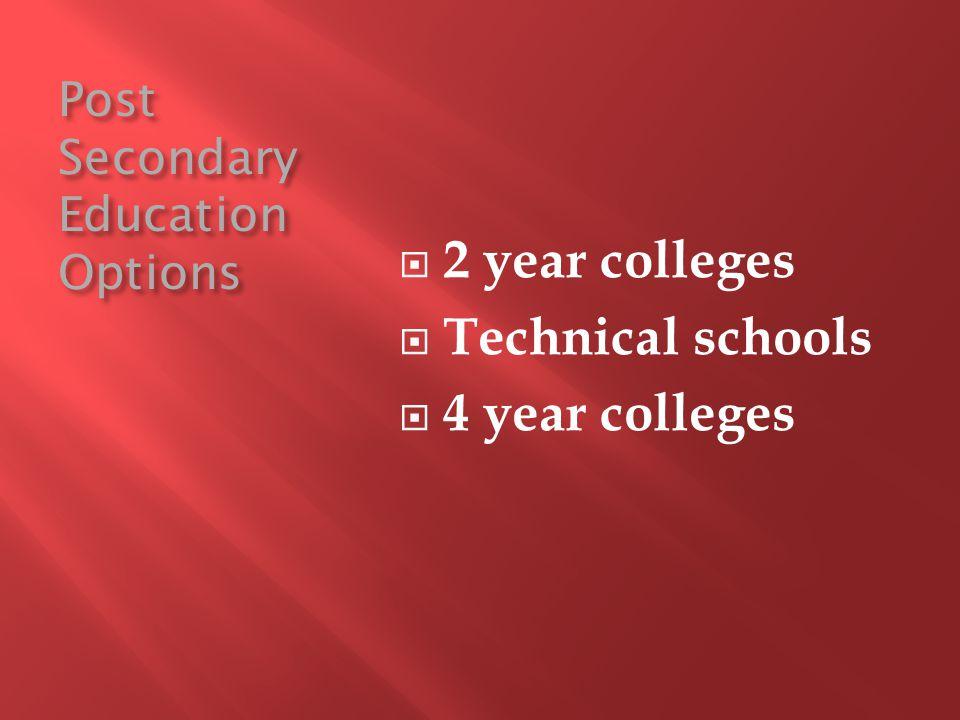 Certificate programs (e.g.phlebotomy, web technology, dental assistant) Associate degrees (e.g.