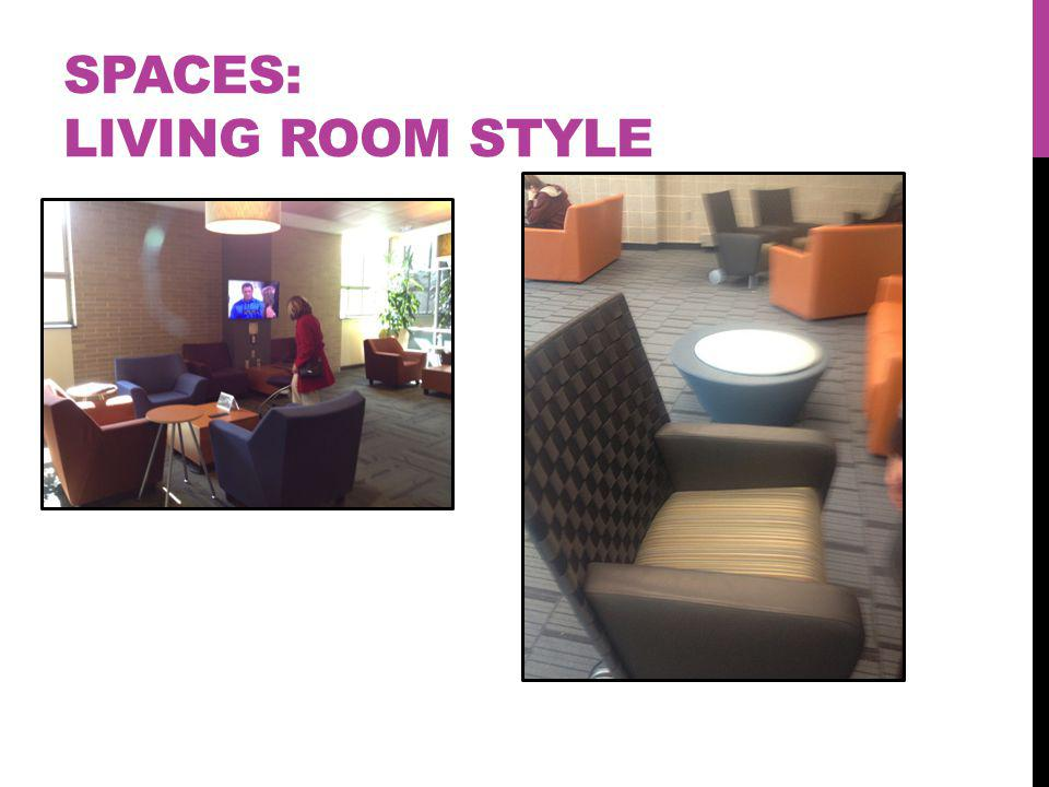 SPACES: LIVING ROOM STYLE