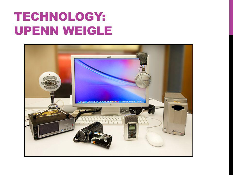 TECHNOLOGY: UPENN WEIGLE