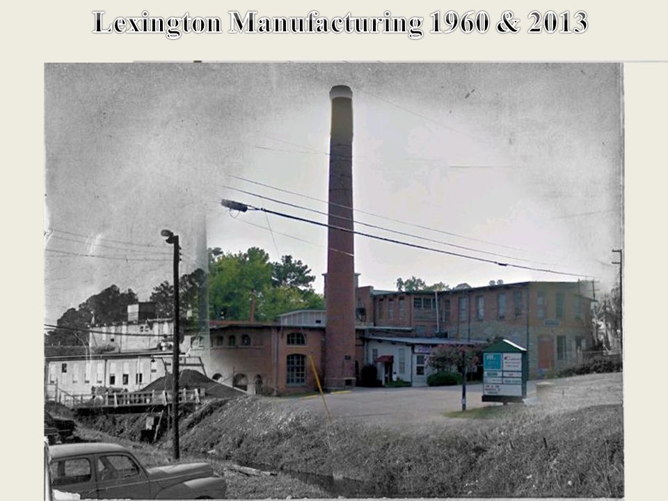 In 1891 W. Pickens Roof of Lexington with a number of other citizens of the town formed the Lexington Manufacturing Company. Mr. Roof, being the princ