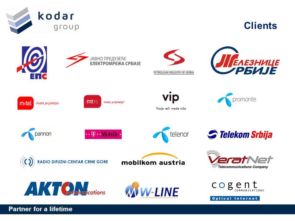 Partner for a lifetime Clients