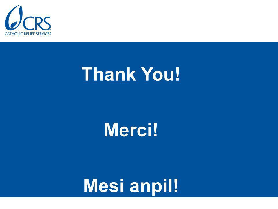 Thank You! Merci! Mesi anpil!