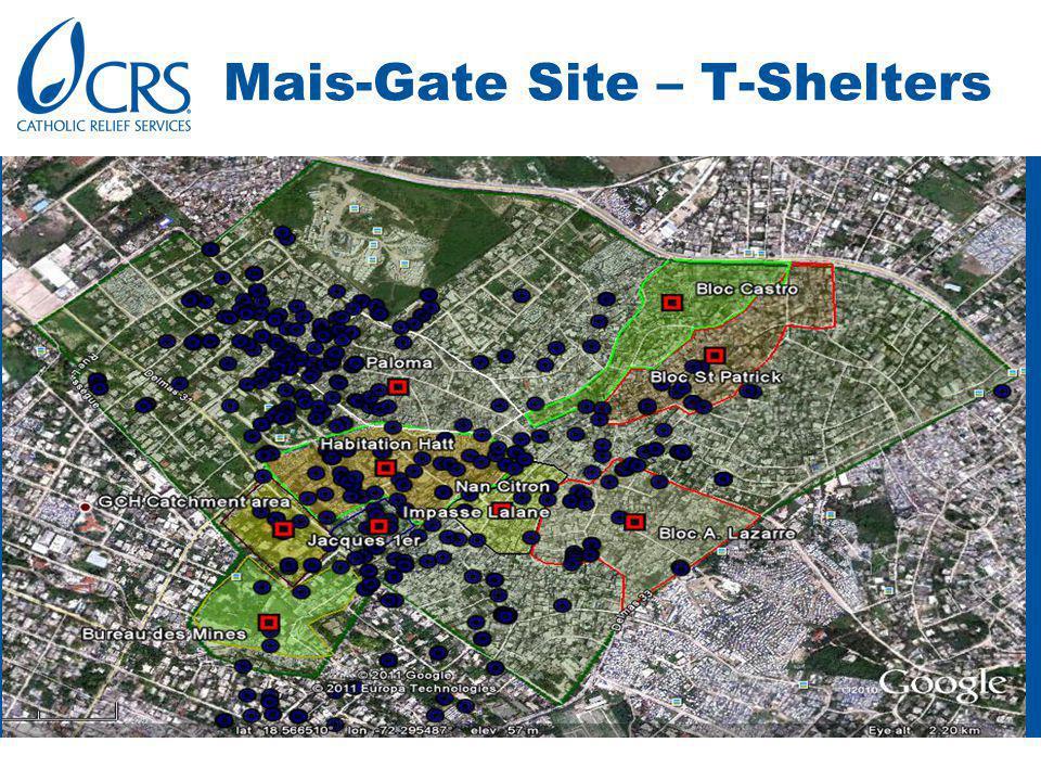 Mais-Gate Site – T-Shelters