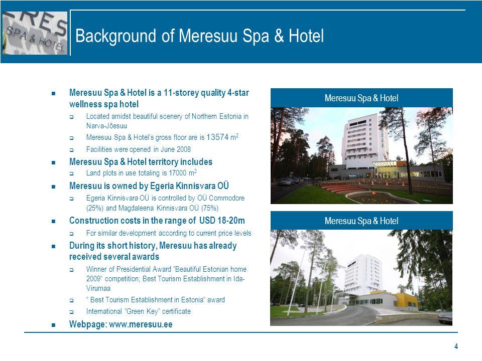 5 Meresuu Spa & Hotel services