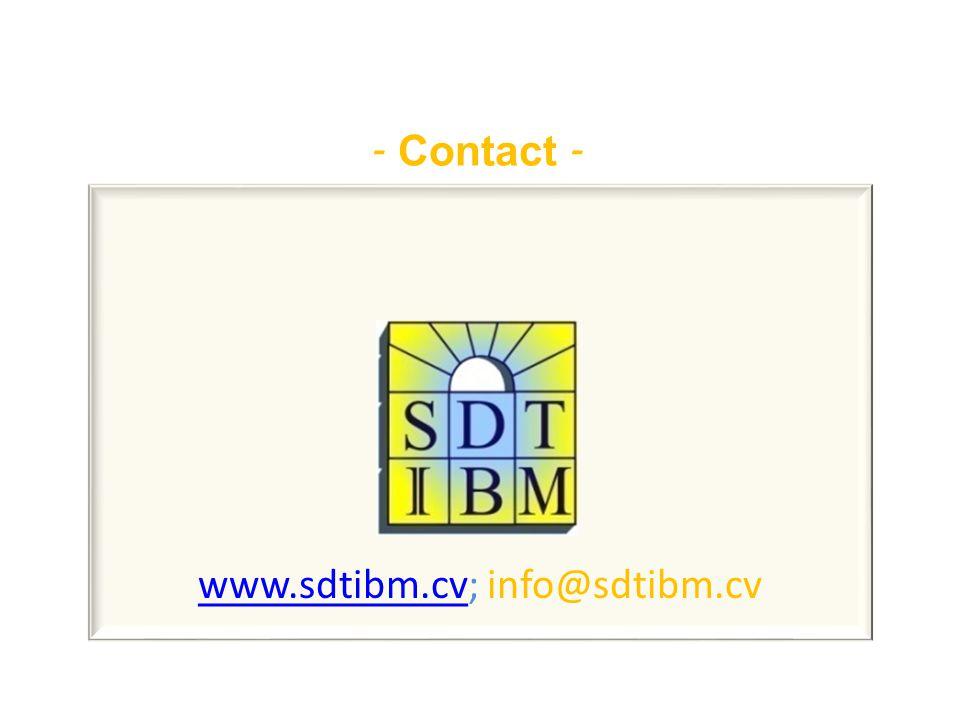 - Contact - www.sdtibm.cvwww.sdtibm.cv; info@sdtibm.cv