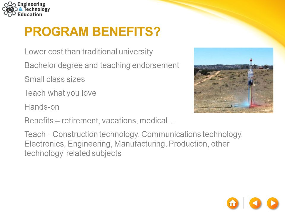 PROGRAM BENEFITS.