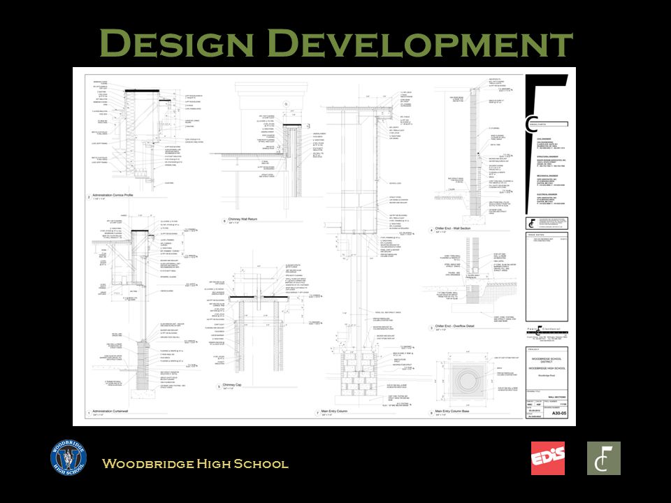 Woodbridge High School Design Development