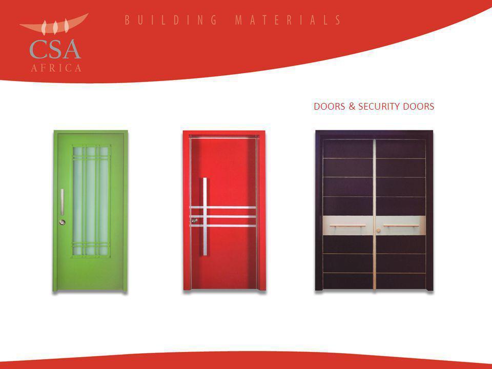 DOORS & SECURITY DOORS