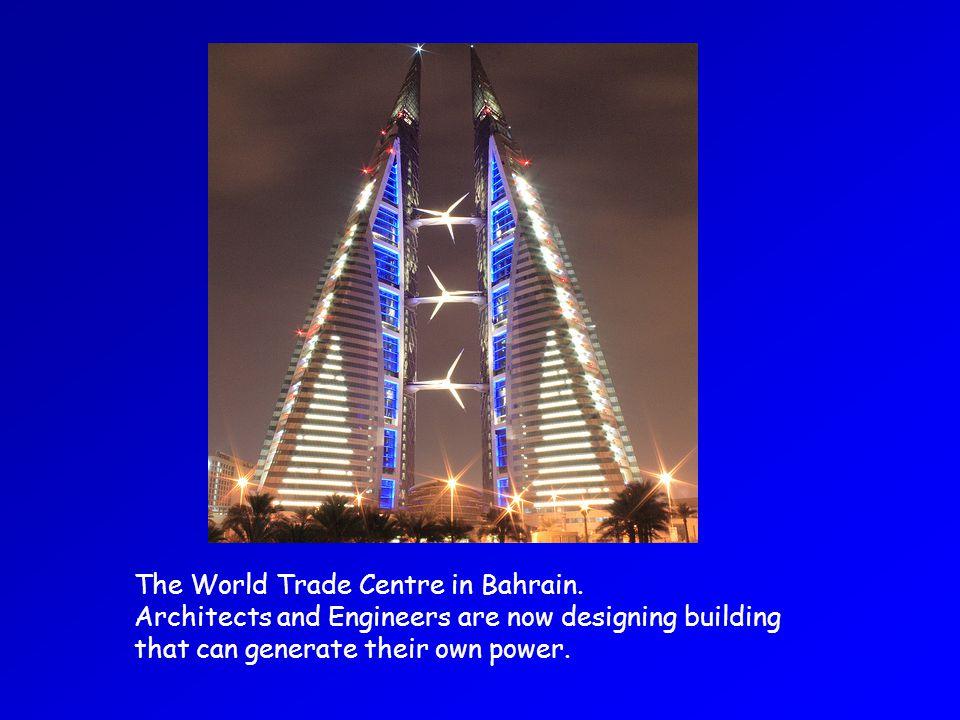 The World Trade Centre in Bahrain.