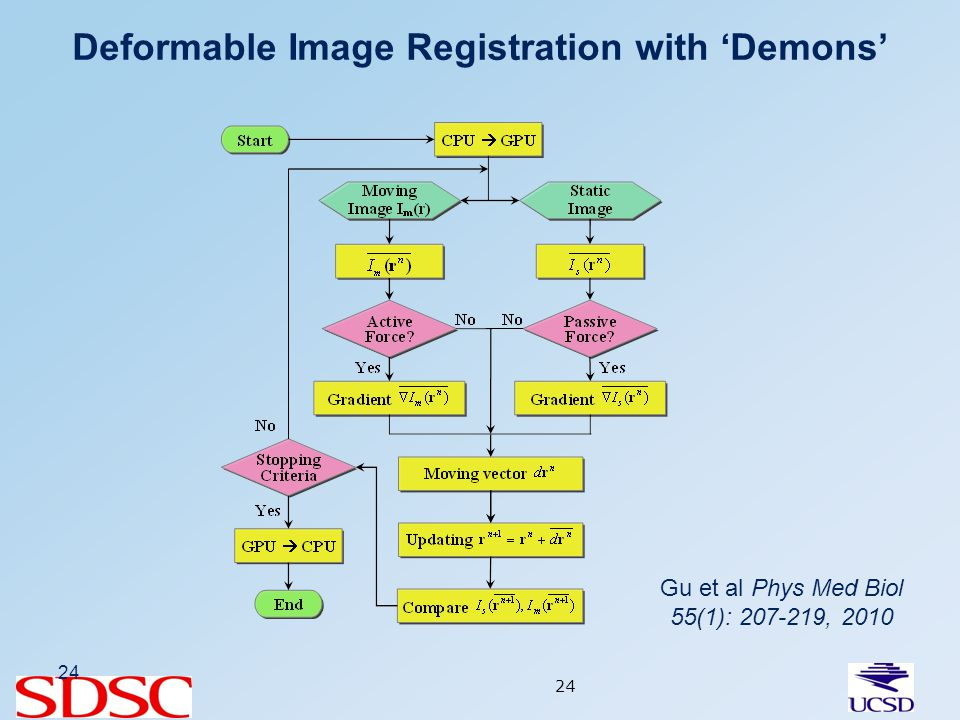 Deformable Image Registration with Demons 24 Gu et al Phys Med Biol 55(1): 207-219, 2010