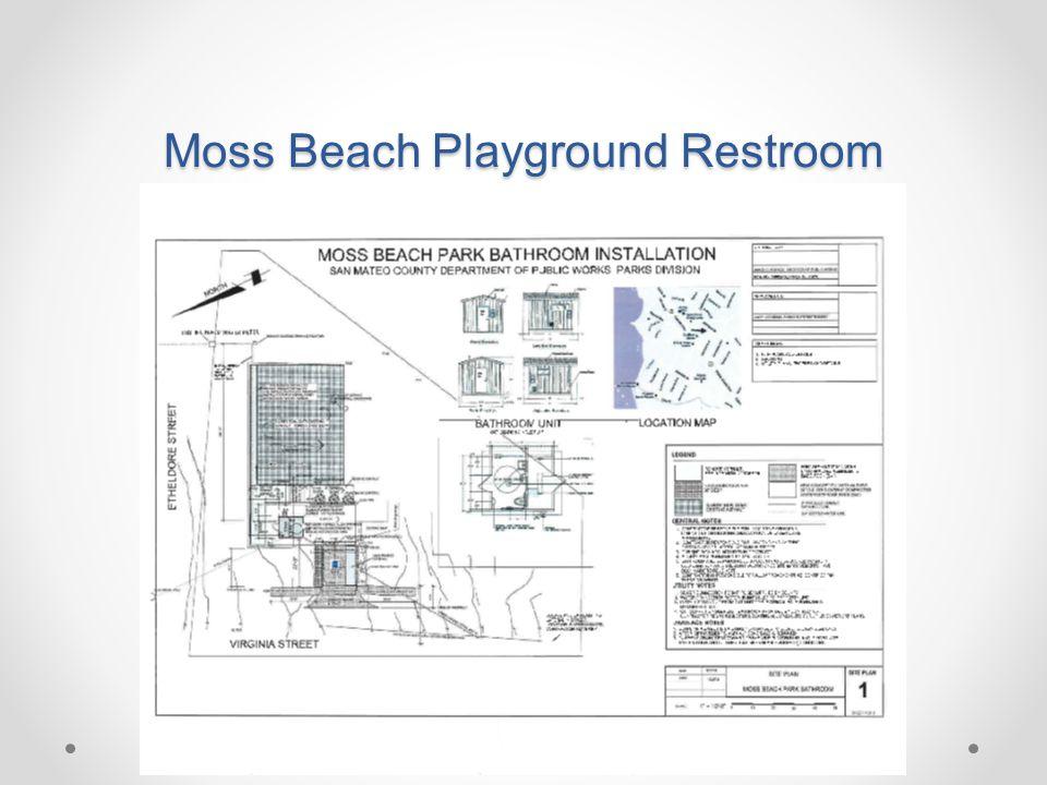 Moss Beach Playground Restroom