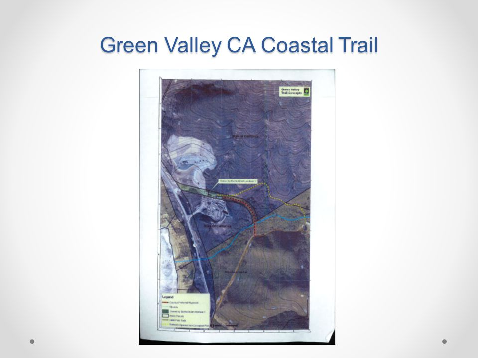Green Valley CA Coastal Trail