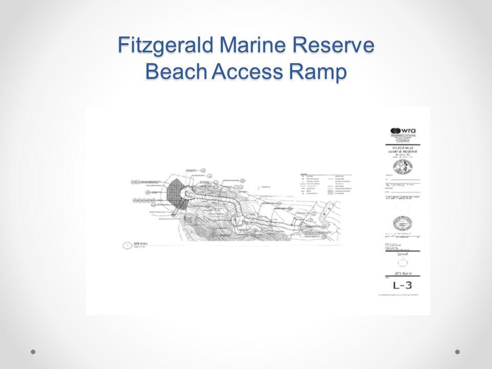 Fitzgerald Marine Reserve Beach Access Ramp
