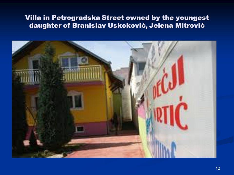11 BRANISLAV USKOKOVIĆS HOUSE AT NO 3 PETROGRADSKA STR. RENTED OUT FOR KINDERGARTEN