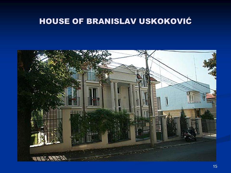 14 One of Uskokovićs villas