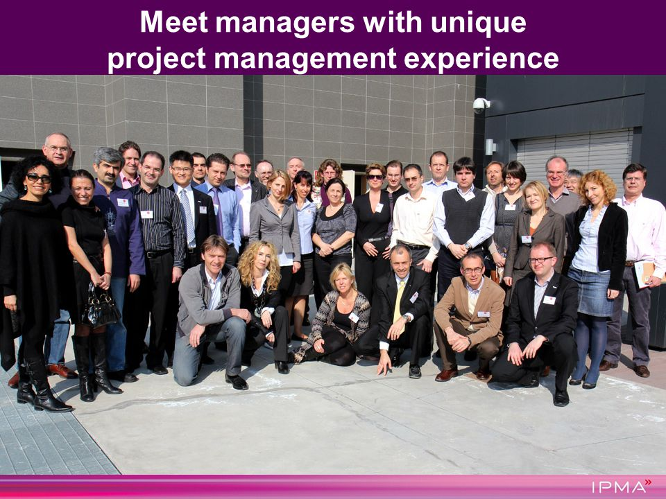 Meet managers with unique project management experience