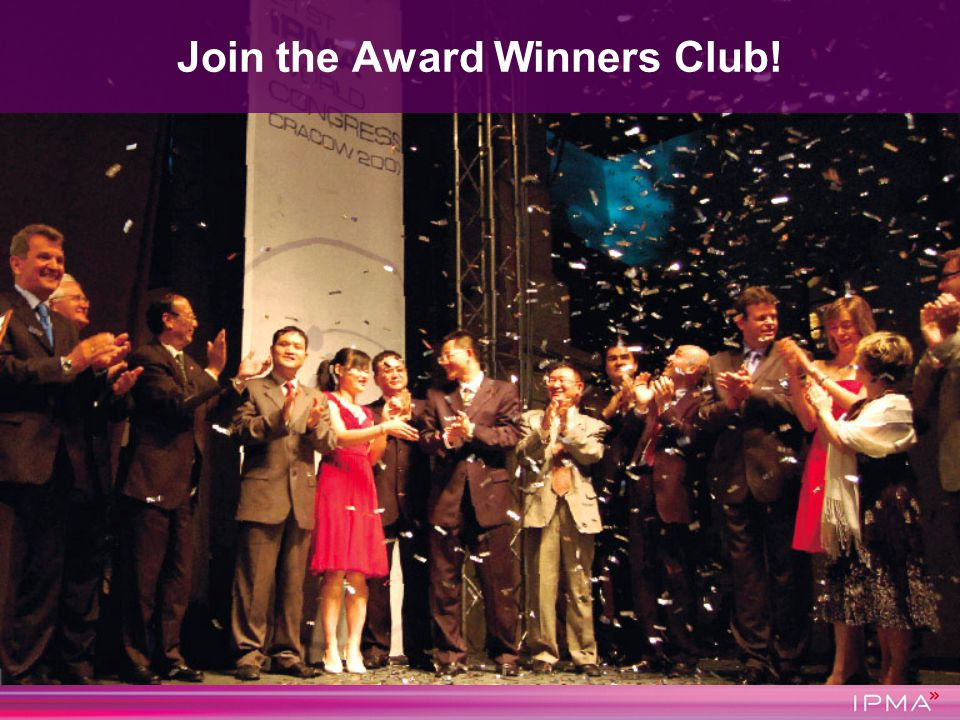 Join the Award Winners Club!