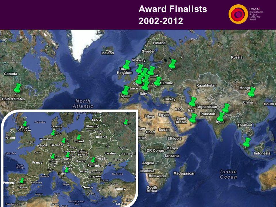 Award Finalists 2002-2012