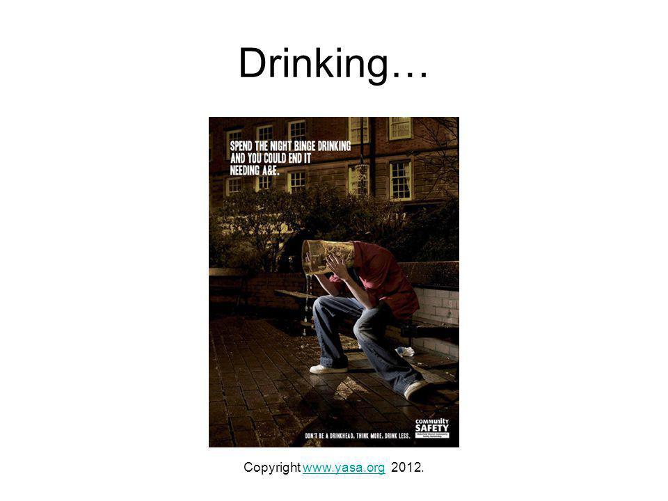 Drinking… Copyright www.yasa.org 2012.www.yasa.org