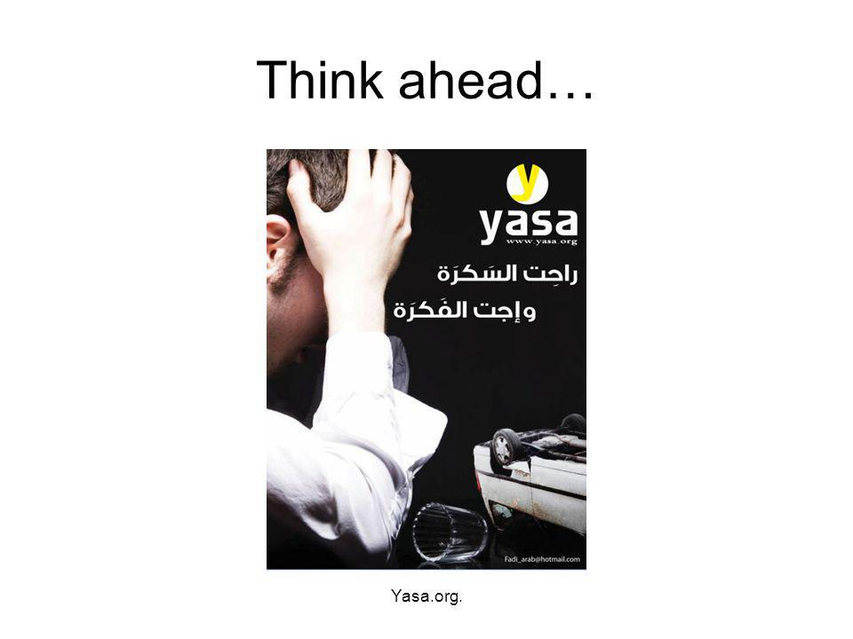 Think ahead… Yasa.org.