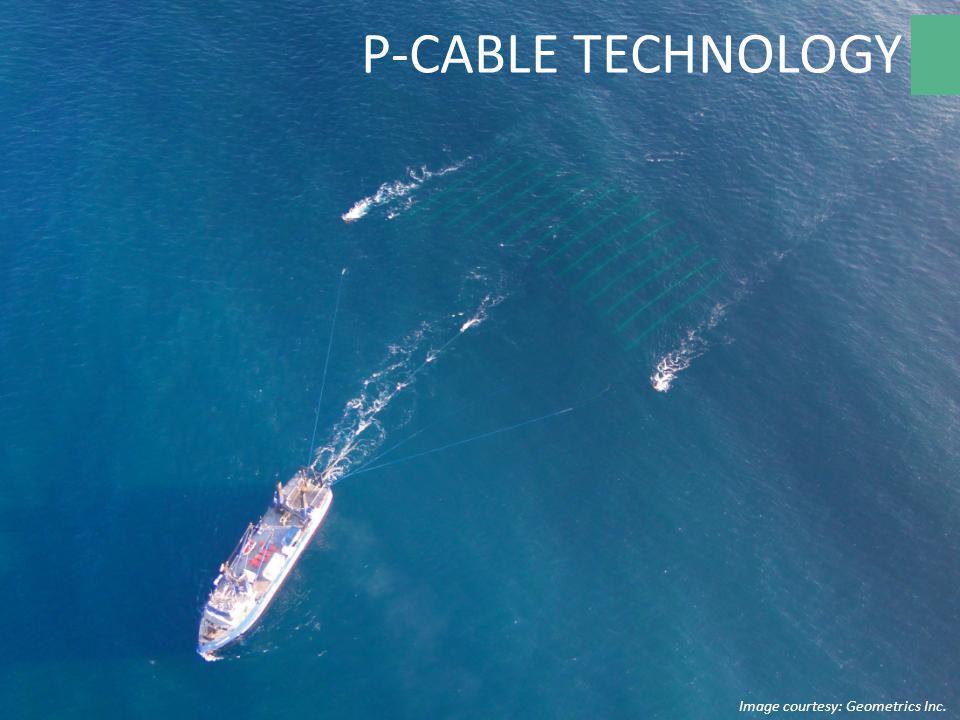 Image courtesy: Geometrics Inc. P-CABLE TECHNOLOGY