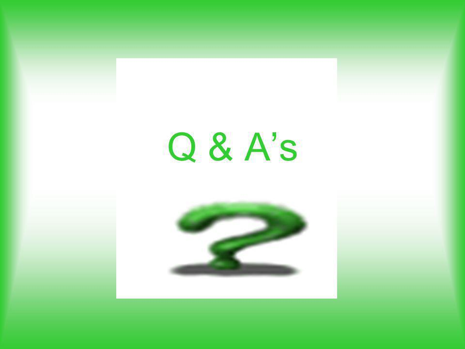 Q & As