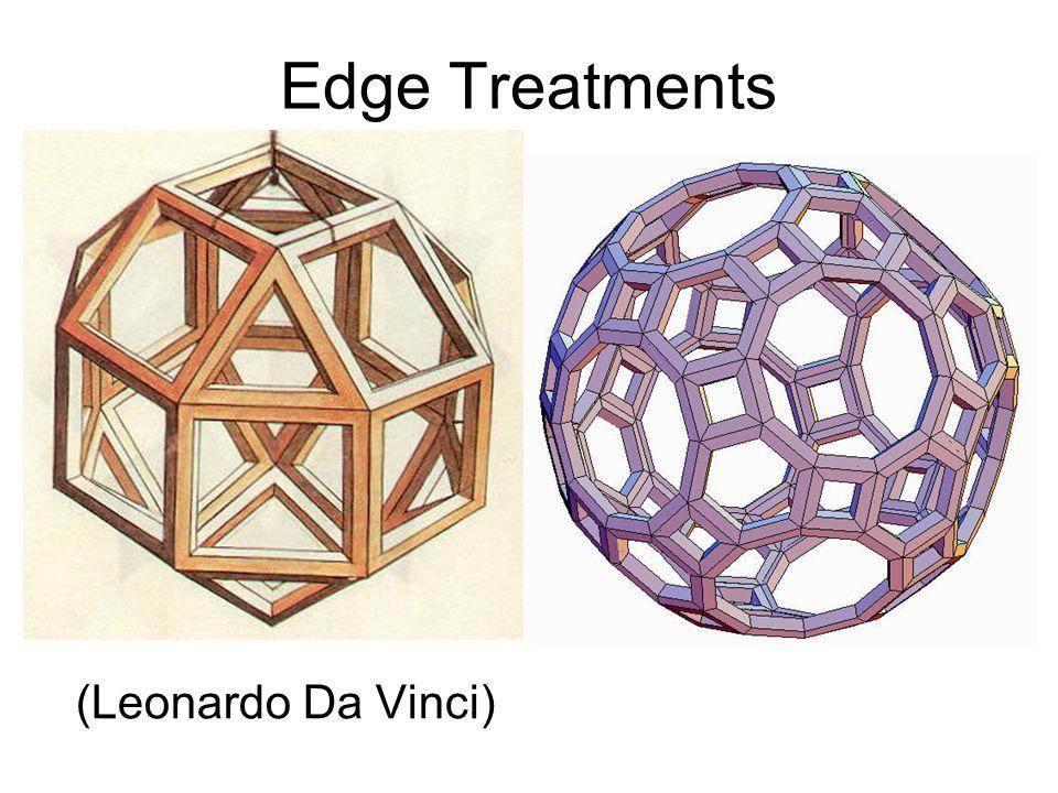 Edge Treatments (Leonardo Da Vinci)