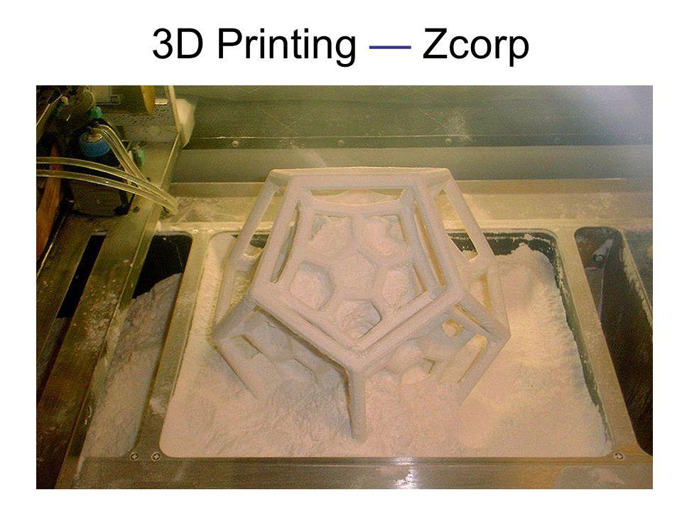3D Printing Zcorp