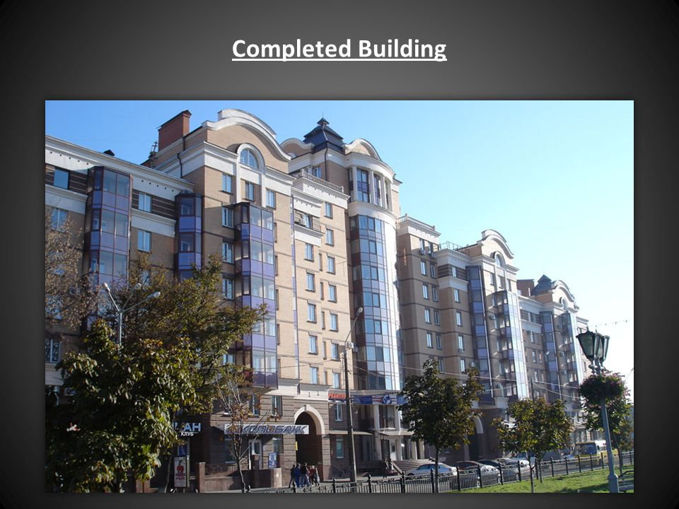 Completed Building