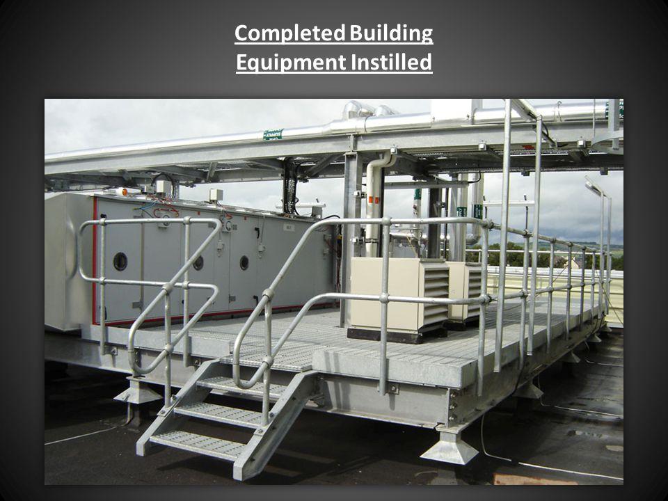 Completed Building Equipment Instilled