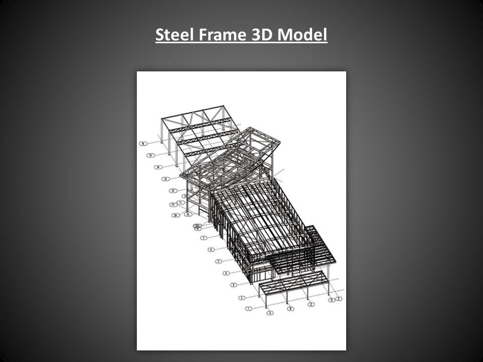 Steel Frame 3D Model