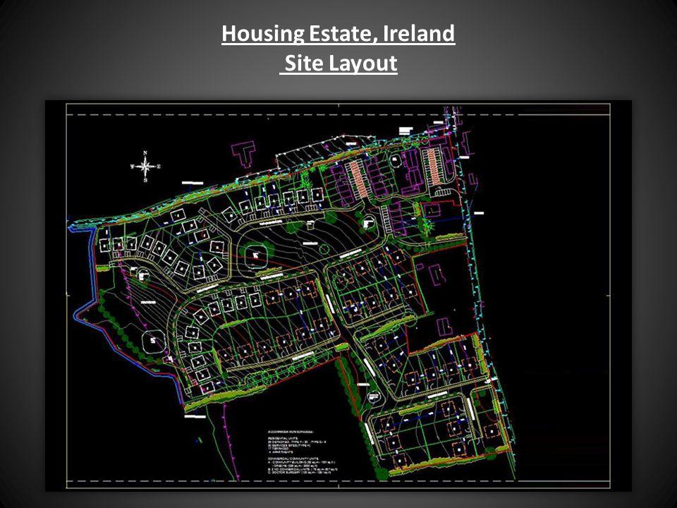 Housing Estate, Ireland Site Layout