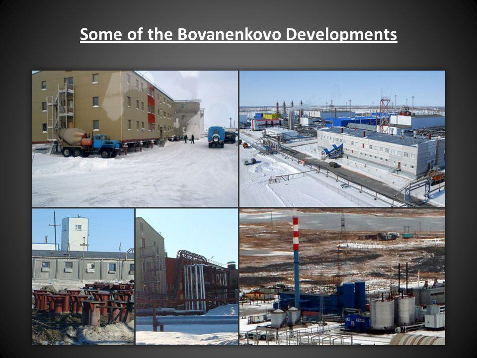 Some of the Bovanenkovo Developments