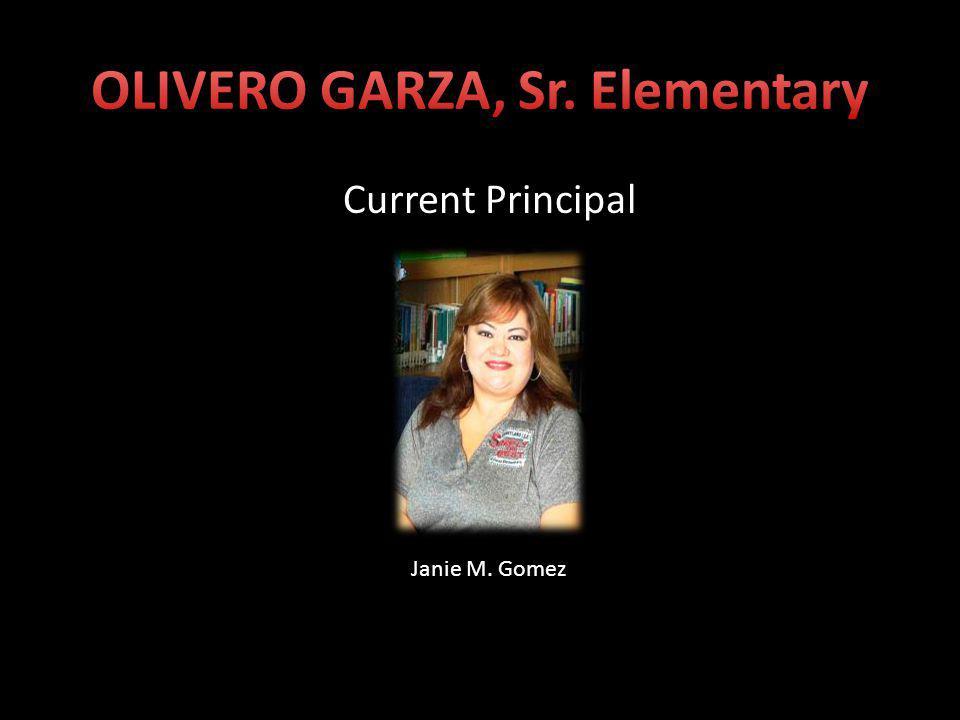 Past Principals Elizabeth Garrett Alma Zamora Jim Smith Rainer Clover