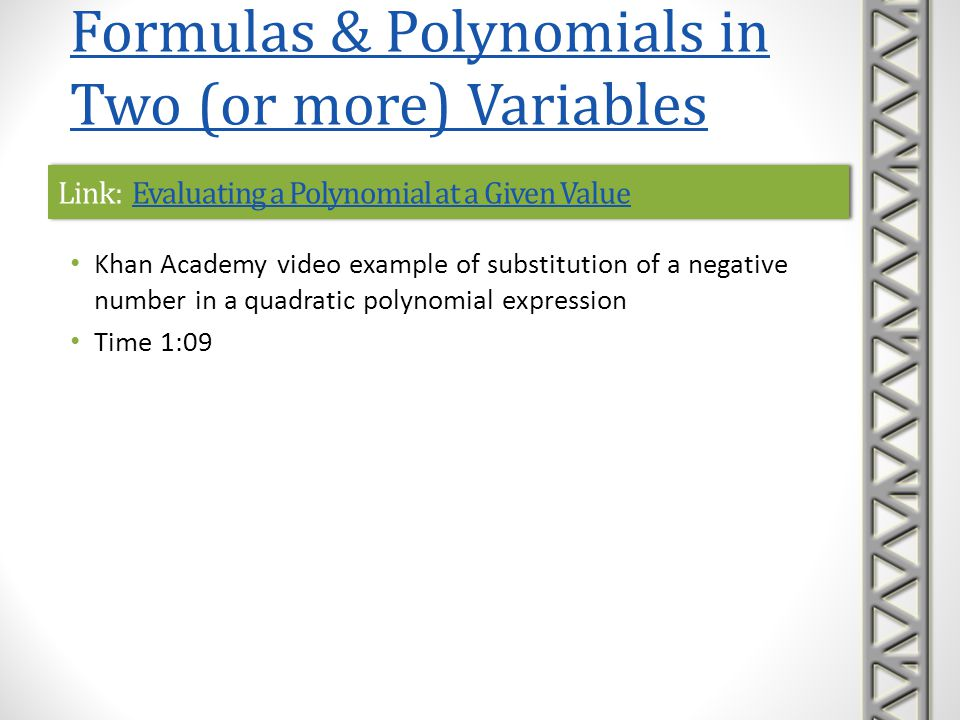 Link: How Do You Evaluate an Algebraic Expression by Plugging in Values.