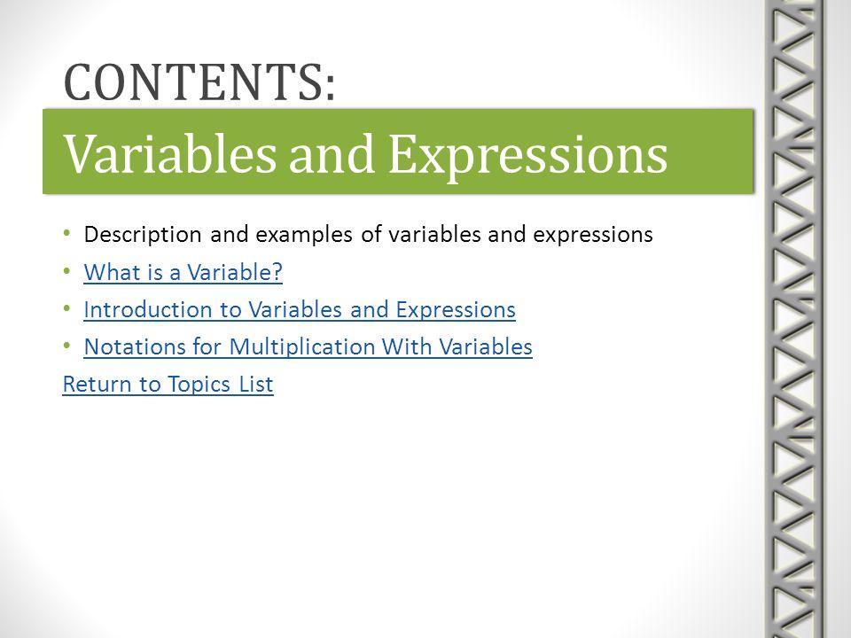 Link: What is a Variable?What is a Variable?Link: What is a Variable?What is a Variable.