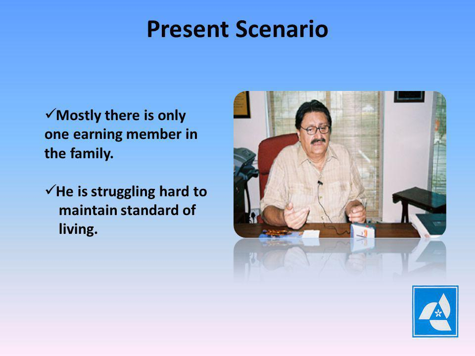 Present Scenario Large Joint Families are Splitted into small single units