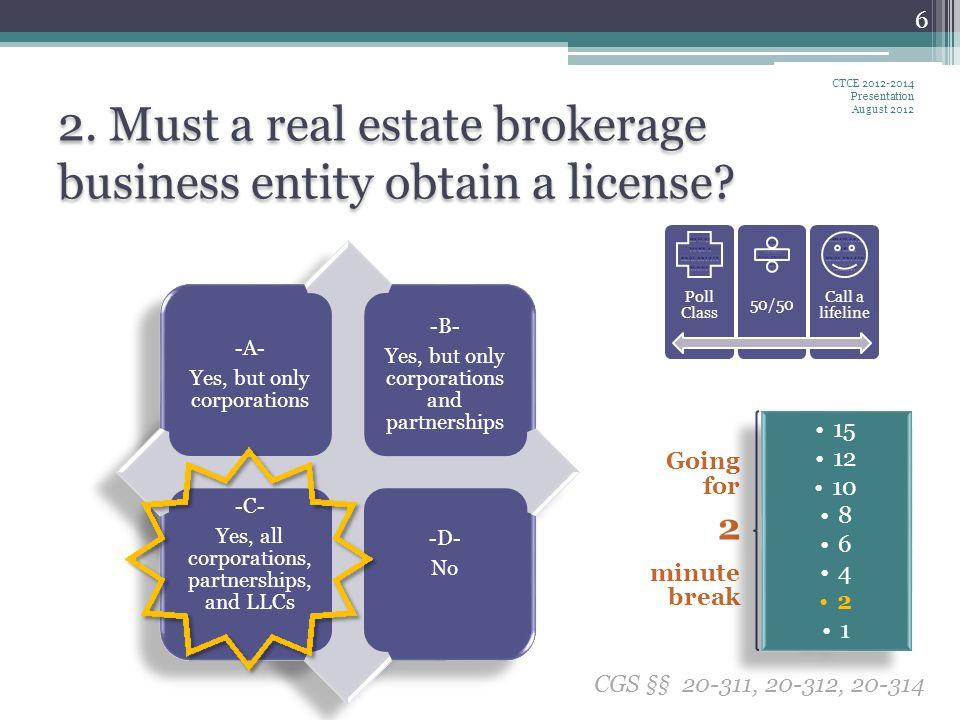 L ET S T ALK A BOUT RELEASING ESCROW ACCOUNTS Broker represents the seller.