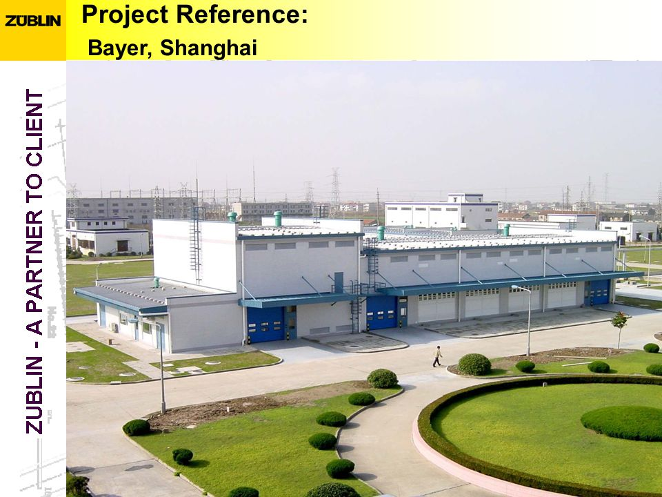Project Reference: Bayer, Shanghai