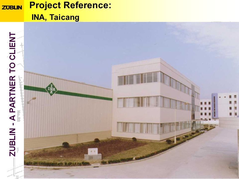 Project Reference: INA, Taicang