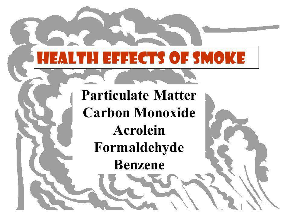 Sensitive Populations Asthma and Respiratory Disease Cardiovascular Disease The Elderly Children Smokers