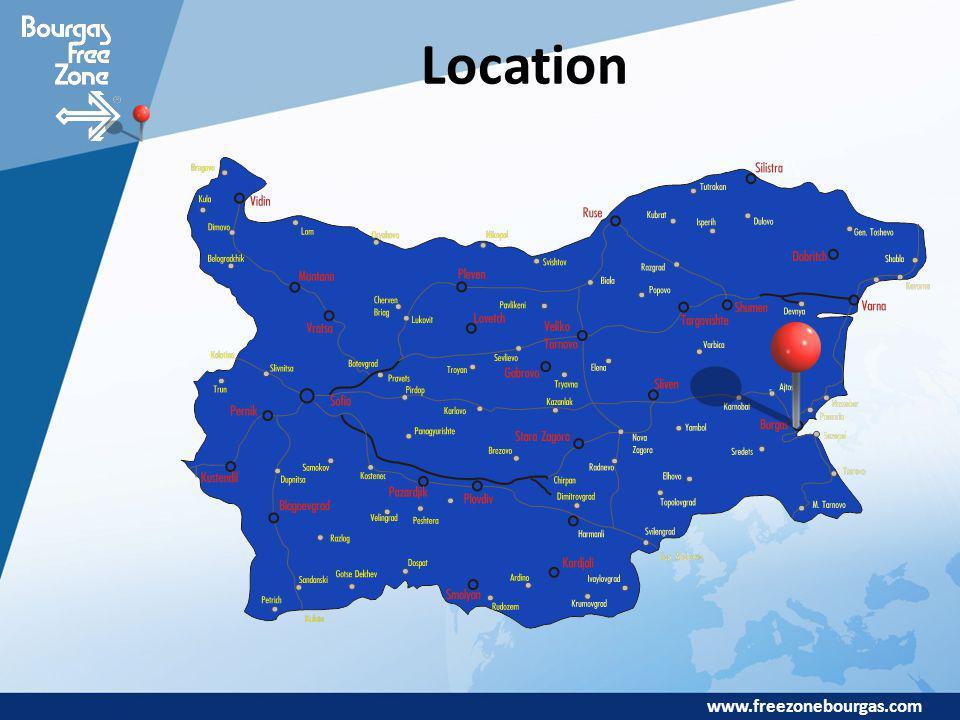 www.freezonebourgas.com Location