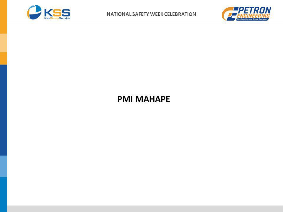 PMI MAHAPE NATIONAL SAFETY WEEK CELEBRATION