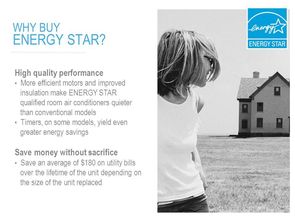 WHY BUY ENERGY STAR.