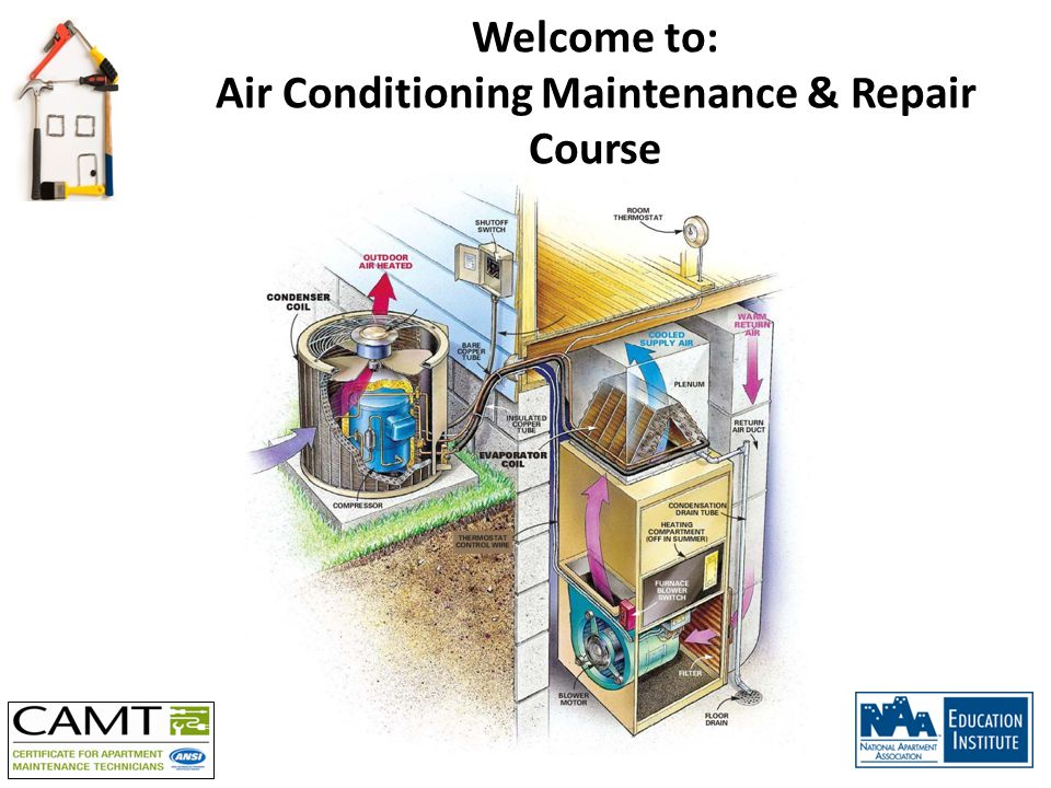 Welcome to: Air Conditioning Maintenance & Repair Course