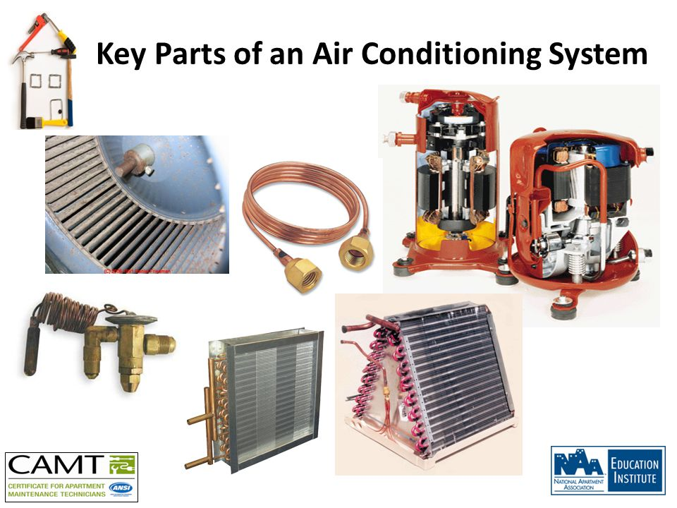 Key Parts of an Air Conditioning System