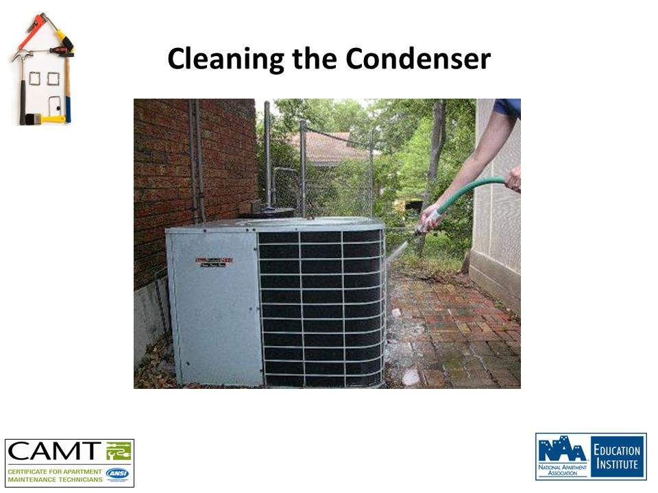 Cleaning the Condenser
